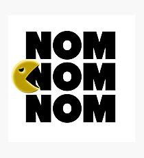 Nom Nom Nom Photographic Print