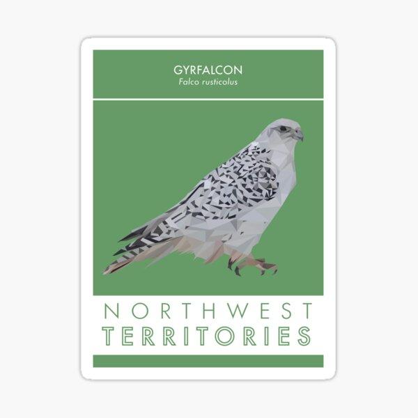 Northwest Territories - Gyrfalcon Sticker