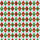 Christmas Lover's Argyle Pattern by adamcampen