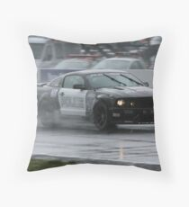 Police Muscle Throw Pillow