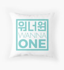 WANNA ONE 워너원 [ver. Simple] Throw Pillow