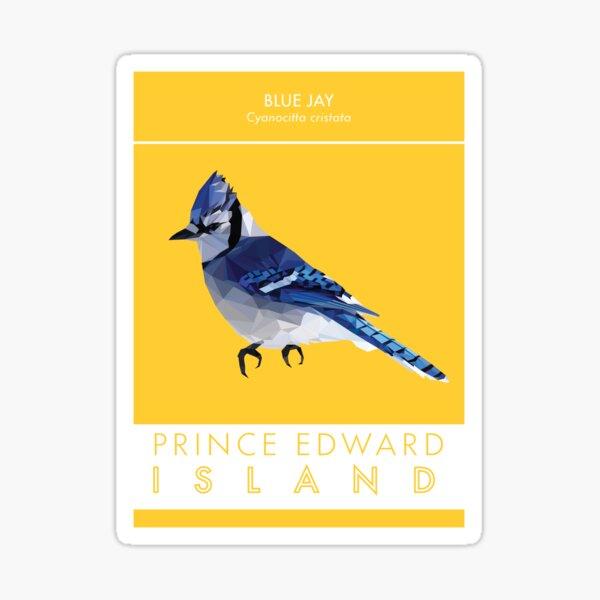 PEI - Blue Jay Sticker