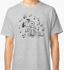 dancing snoopy Classic T-Shirt