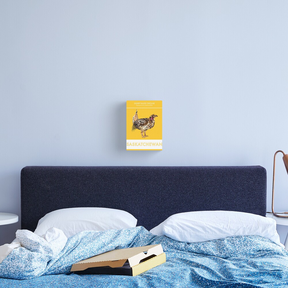 Saskatchewan - Sharp-tailed Grouse Canvas Print