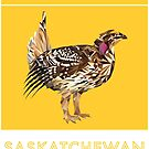 Saskatchewan - Sharp-tailed Grouse by grainnedowney