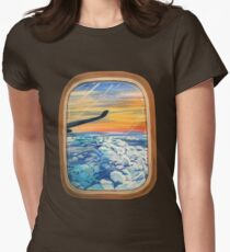 Above The Clouds Women's Fitted T-Shirt