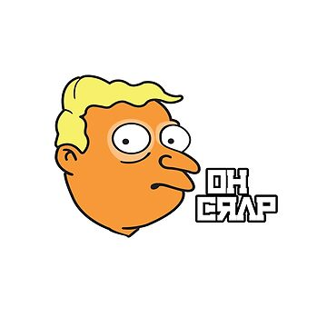 "Donald Trump says ""OH CRAP"" via Larry Burns by f-rico"