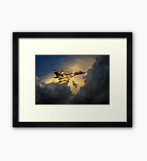 Golden Vulcan  Framed Print