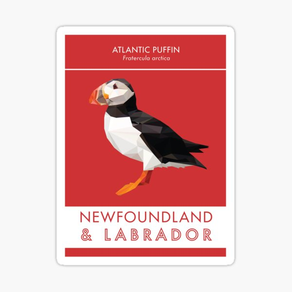 Newfoundland and Labrador - Atlantic Puffin Sticker