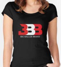 big baller brand Women's Fitted Scoop T-Shirt
