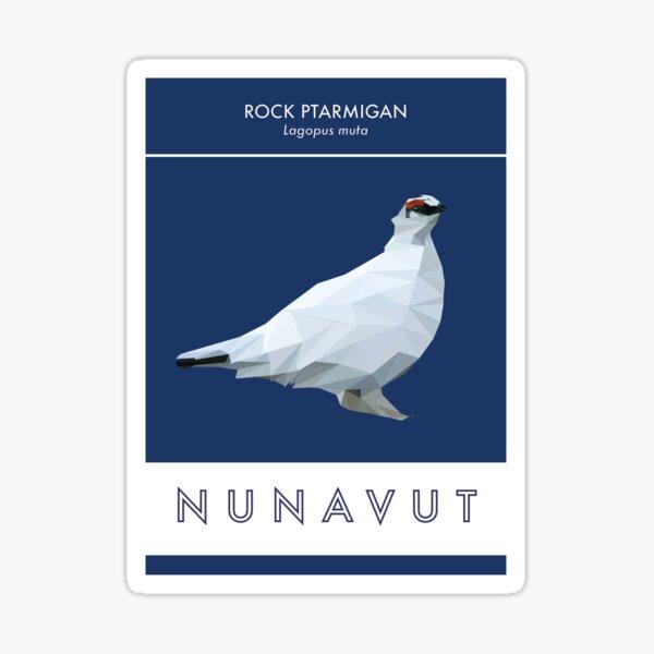 Nunavut - Rock Ptarmigan Sticker