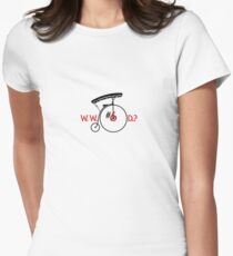 What Would Number Six Do? (light) Women's Fitted T-Shirt