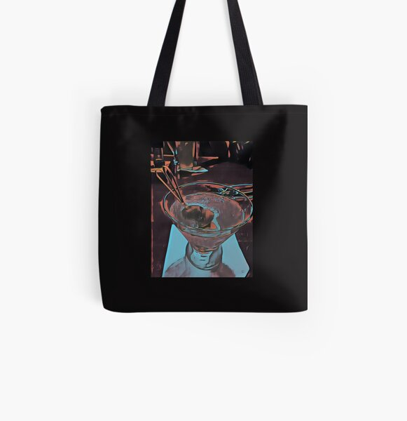 Martini Madness 3  Original Photography by Tony DuPuis All Over Print Tote Bag