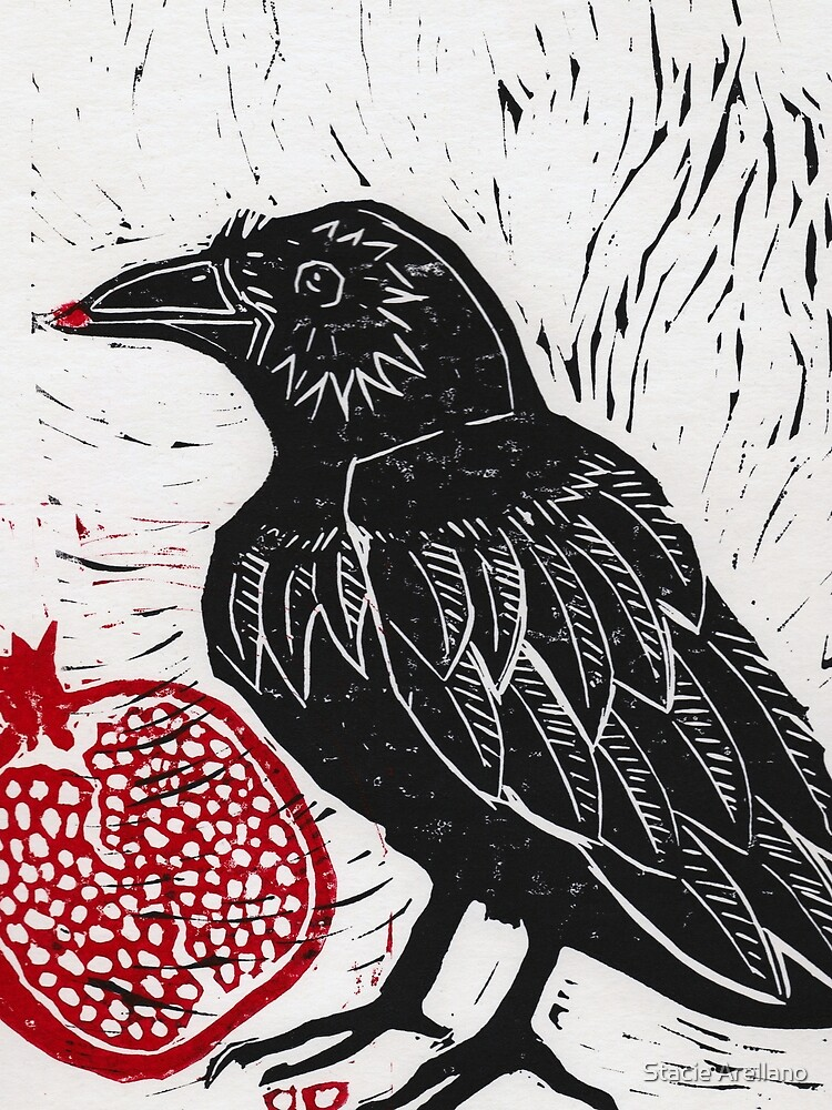 Raven and Pomegranate  by dreamling