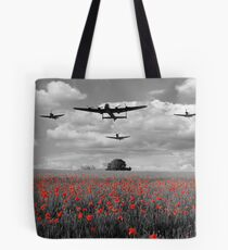 Over The Fields - Selective  Tote Bag