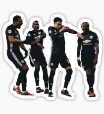 Pogba Lingard Martial Young Milly Rock Sticker