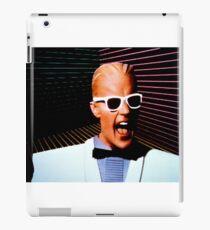 Max Headroom iPad Case/Skin