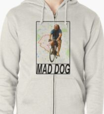 Mad Dog Zipped Hoodie