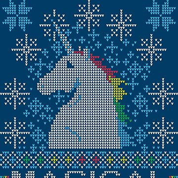 Magical Winter Unicorn by manikx