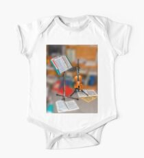 Violin and notes Kids Clothes