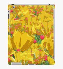Yellow Tulip Mania iPad Case/Skin