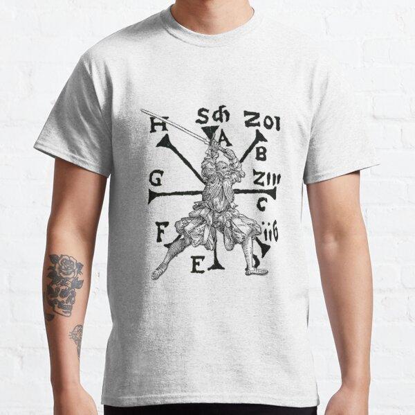 VomTag. Medieval Renaissance Swordsman Classic T-Shirt