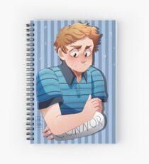 Nervious Evan Spiral Notebook