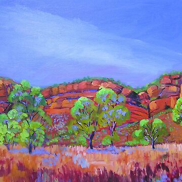 Kununarra Escarpment Northern Territory by ginnymac
