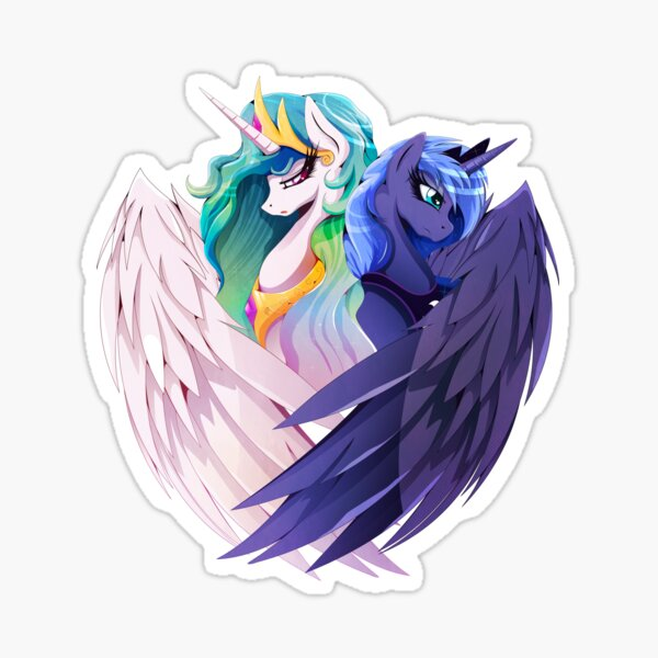 Sisters of Canterlot Sticker