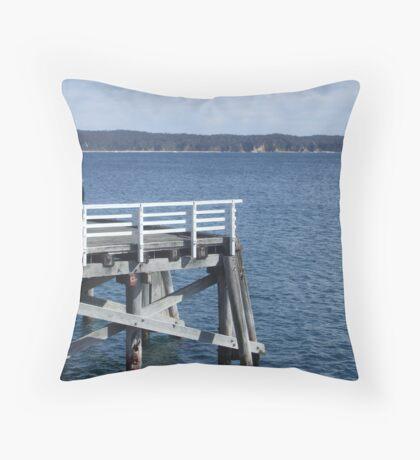 The Wharf Throw Pillow