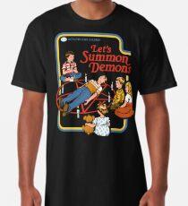Camiseta larga Vamos a invocar demonios