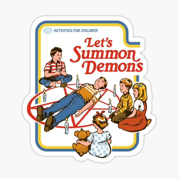 Let's Summon Demons Sticker