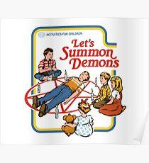 Lass uns Dämonen beschwören Poster