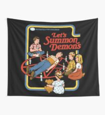 Let's Summon Demons Wall Tapestry