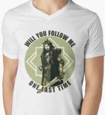 Will You Follow Me Men's V-Neck T-Shirt