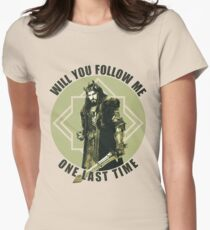 Will You Follow Me Women's Fitted T-Shirt