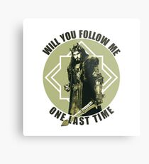 Will You Follow Me Metal Print