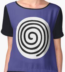 Polywag swirl  Women's Chiffon Top