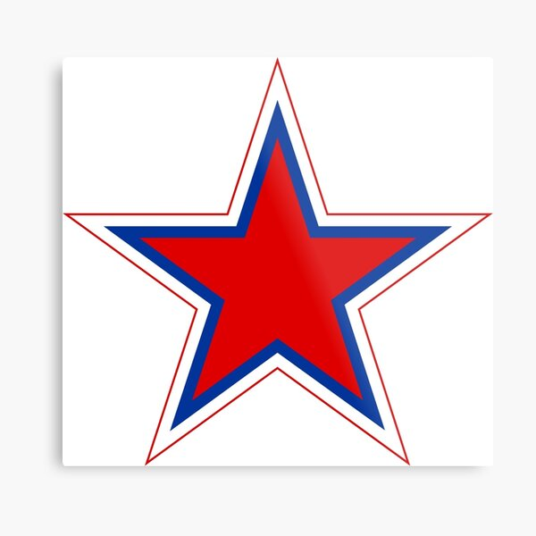 Roundel of the Russian Air Force  Metal Print
