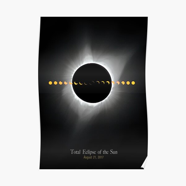 Total Eclipse of the Sun - August 2017 Poster