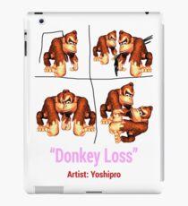 Donkey Loss iPad Case/Skin