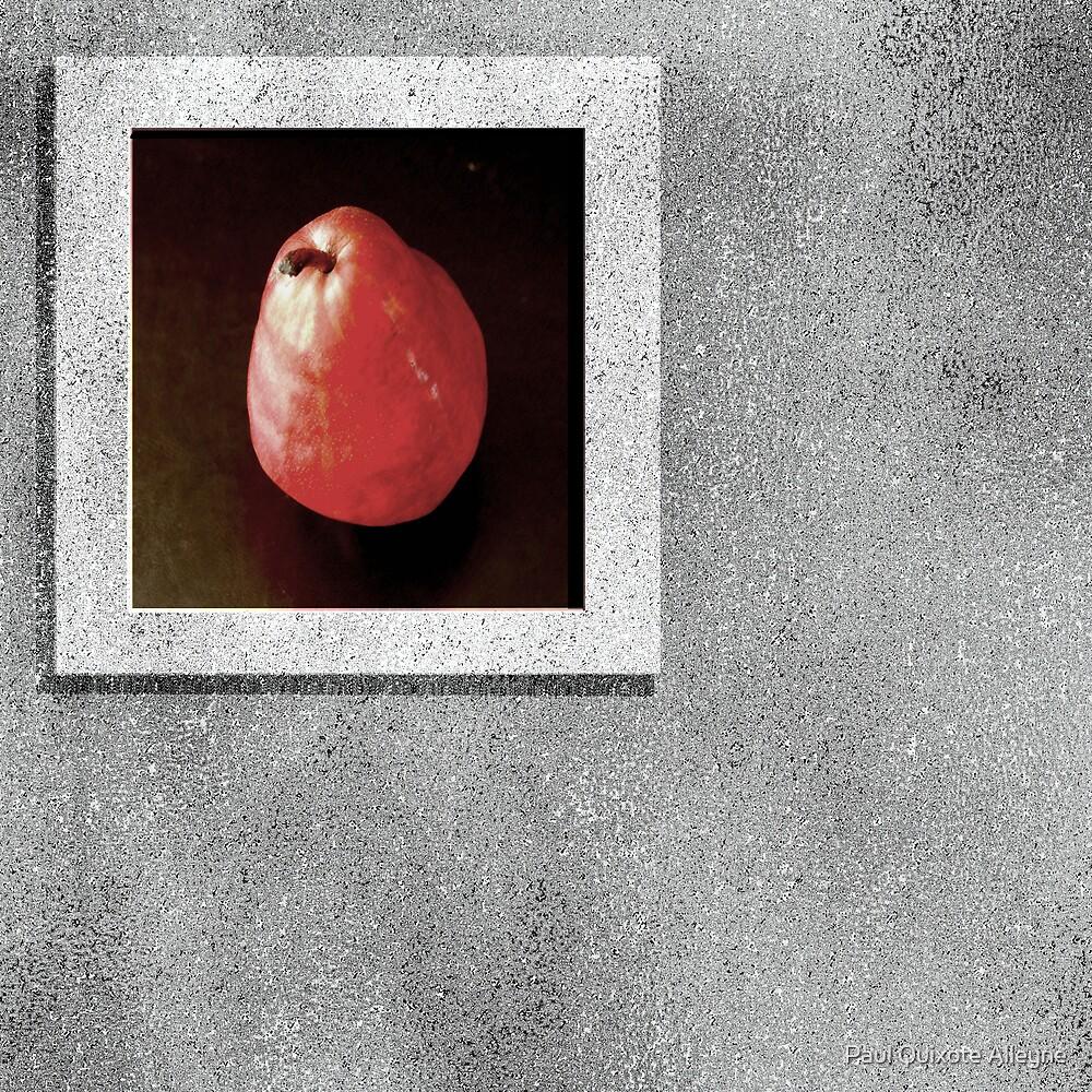 La poire dans la fenêtre, (THE PEAR IN THE WINDOW) by Paul Quixote Alleyne