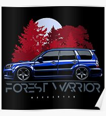 Forest Warrior. Forester STI Poster