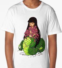Snake Goddess Naga Long T-Shirt