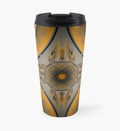 Fire Spirit Orange Travel Mug