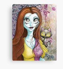 """Gaze Into The Stars"" Sally & Kitty Canvas Print"