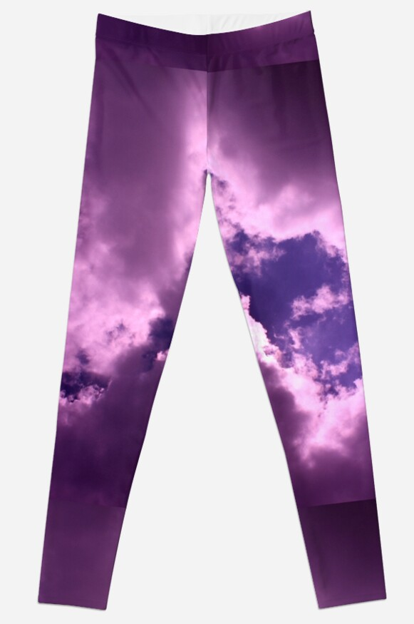 Big Puffy Purple Clouds by secnola
