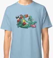 Xiaolin Showdown Pokemon Crossover Classic T-Shirt