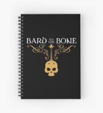 Cuaderno de espiral Bard to the Bone Bards Tablero RPG Adicto