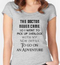 Clash of fandoms Women's Fitted Scoop T-Shirt